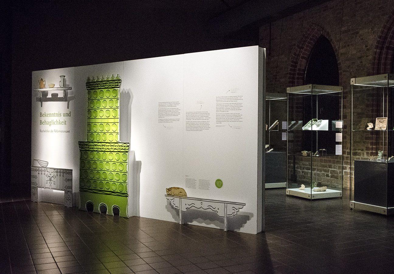 Eingangswand zur Ausstellung
