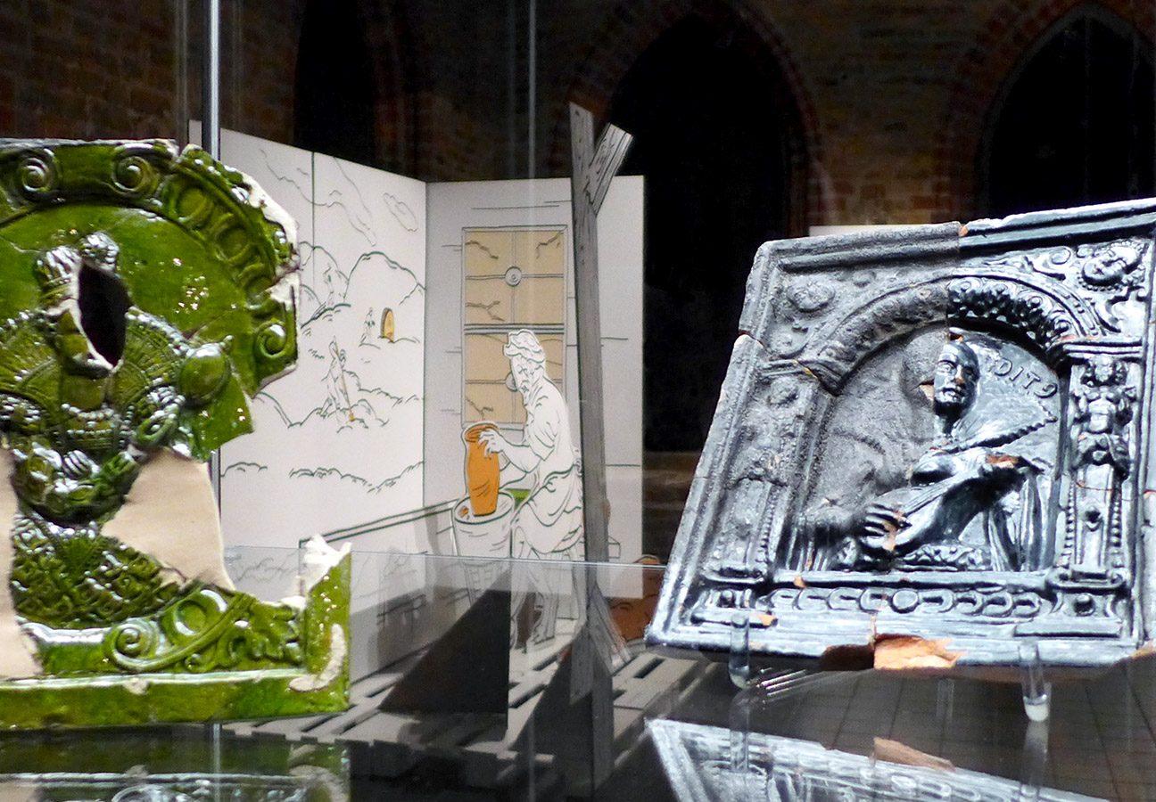Leihgaben des Archäologisch-Historischen Museums in Stargard, Polen und des BLDAMs